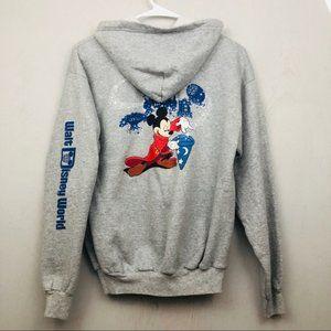 Walt Disney World Vintage Style Hoodie Jacket